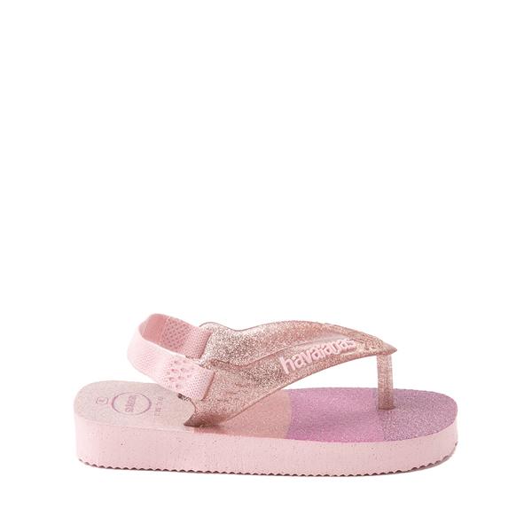 alternate view Havaianas Slim Palette Glow Sandal - Baby / Toddler - Candy PinkALT1