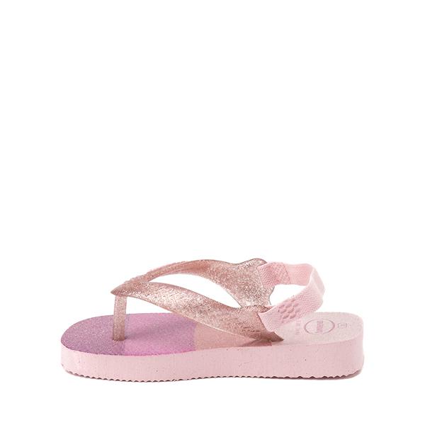 alternate view Havaianas Slim Palette Glow Sandal - Baby / Toddler - Candy PinkALT1B