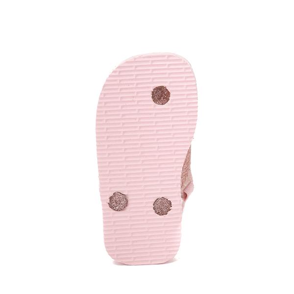 alternate view Havaianas Slim Palette Glow Sandal - Baby / Toddler - Candy PinkALT3
