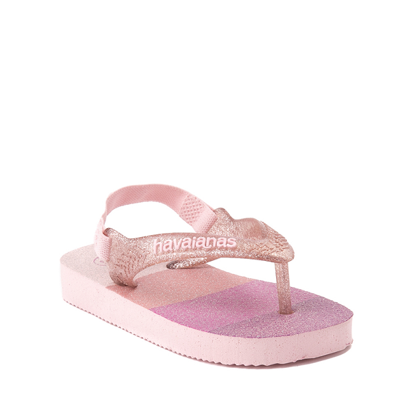 alternate view Havaianas Slim Palette Glow Sandal - Baby / Toddler - Candy PinkALT5