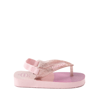 Alternate view of Havaianas Slim Palette Glow Sandal - Baby / Toddler - Candy Pink
