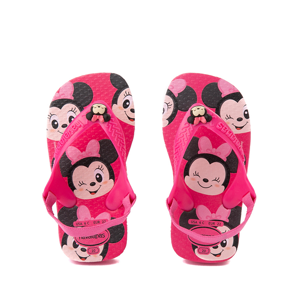 Havaianas Disney Minnie Mouse Top Sandal - Baby / Toddler - Pink Flux