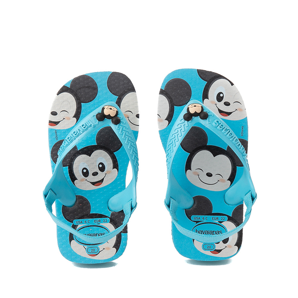 Main view of Havaianas Disney Mickey Mouse Top Sandal - Baby / Toddler - Pink Flux