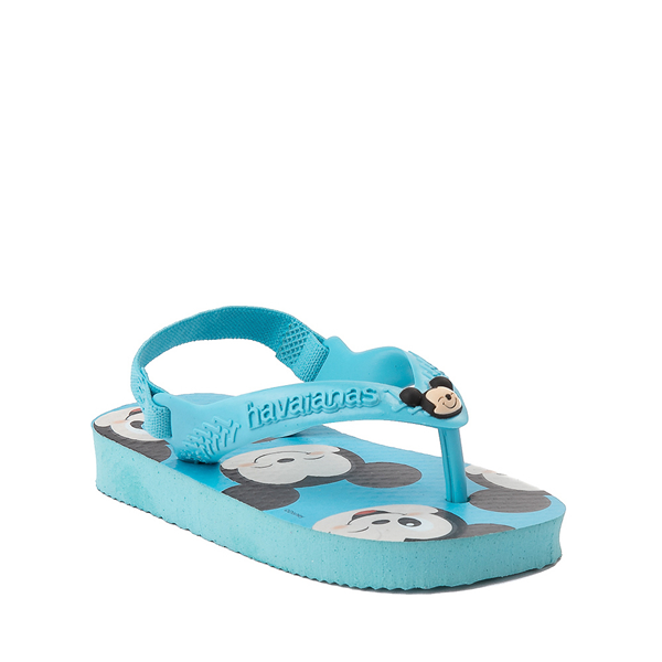 alternate view Havaianas Disney Mickey Mouse Top Sandal - Baby / Toddler - Pink FluxALT5
