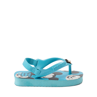 Alternate view of Havaianas Disney Mickey Mouse Top Sandal - Baby / Toddler - Pink Flux