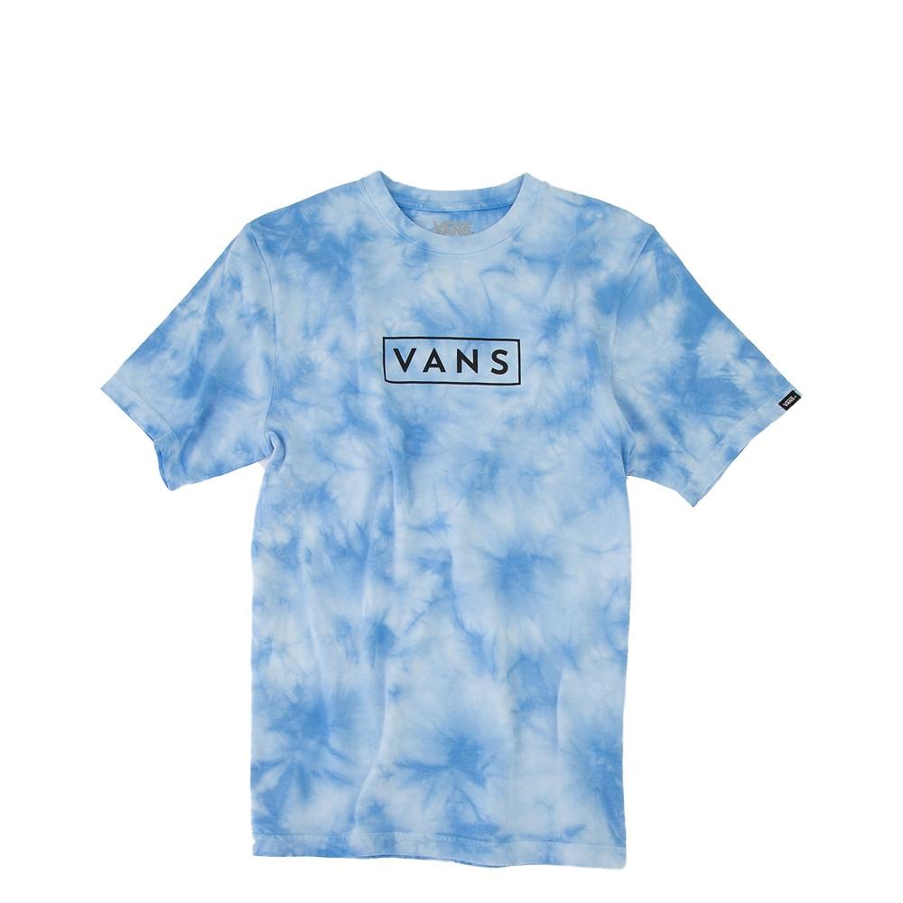 Vans Tie Dye Easy Box Tee - Little Kid / Big Kid - Natural Blue