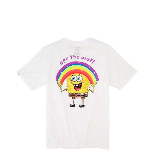 alternate view Vans x SpongeBob Squarepants™ Imaginaaation Tee - Little Kid / Big Kid - WhiteALT2