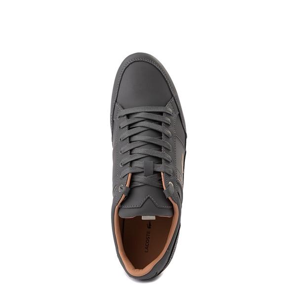 alternate view Mens Lacoste Chaymon Sport Sneaker - Dark GrayALT2
