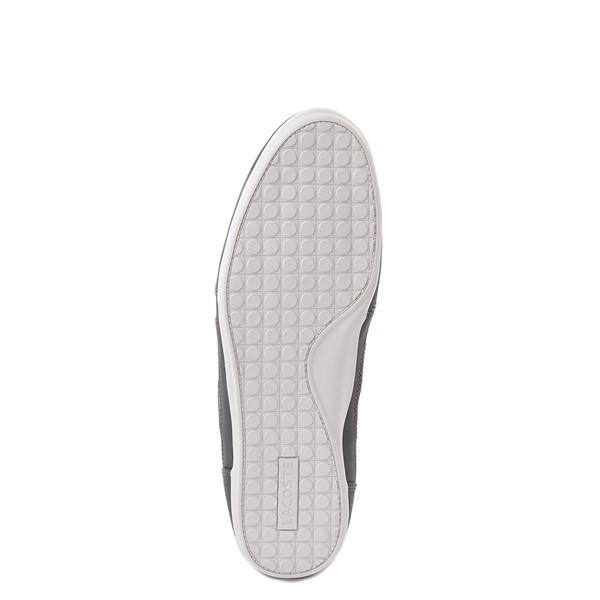 alternate view Mens Lacoste Chaymon Sport Sneaker - Dark GrayALT3