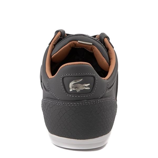 alternate view Mens Lacoste Chaymon Sport Sneaker - Dark GrayALT4