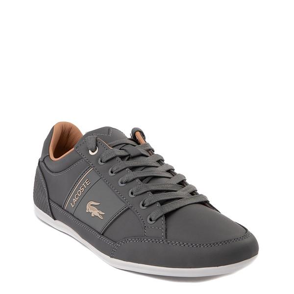 alternate view Mens Lacoste Chaymon Sport Sneaker - Dark GrayALT5