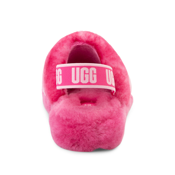 alternate view UGG® Fluff Yeah Slide Sandal - Little Kid / Big Kid - Pink GradientALT4