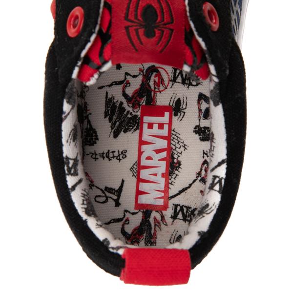 alternate view Ground Up Marvel Spider-Man Sneaker - Little Kid / Big Kid - BlackALT2D