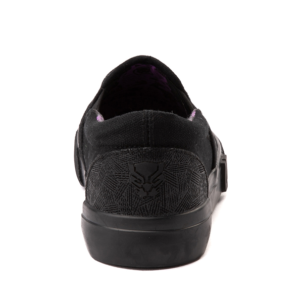alternate view Ground Up Marvel Black Panther Slip On Sneaker - Little Kid / Big Kid - BlackALT4