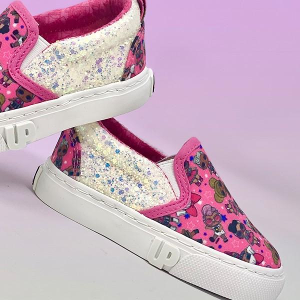 alternate view Ground Up LOL Surprise!™ Slip On Sneaker - Little Kid - PinkALT1C