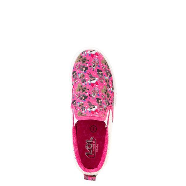alternate view Ground Up LOL Surprise!™ Slip On Sneaker - Little Kid - PinkALT2