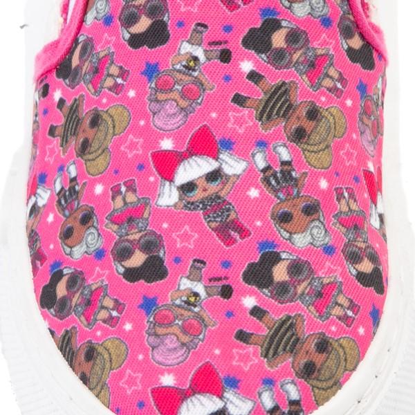 alternate view Ground Up LOL Surprise!™ Slip On Sneaker - Little Kid - PinkALT2B