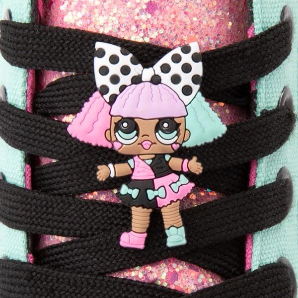 alternate view Ground Up LOL Surprise!™ Hi Sneaker - Little Kid - MulticolorALT1B
