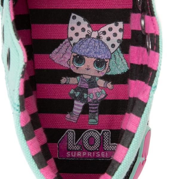 alternate view Ground Up LOL Surprise!™ Hi Sneaker - Little Kid - MulticolorALT2B