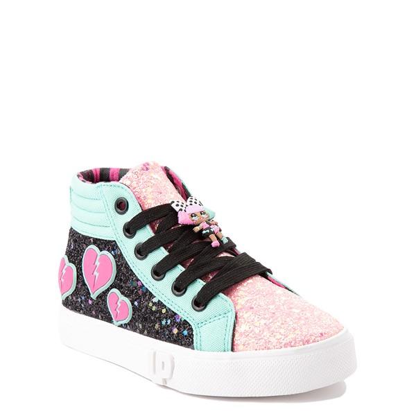 alternate view Ground Up LOL Surprise!™ Hi Sneaker - Little Kid - MulticolorALT5