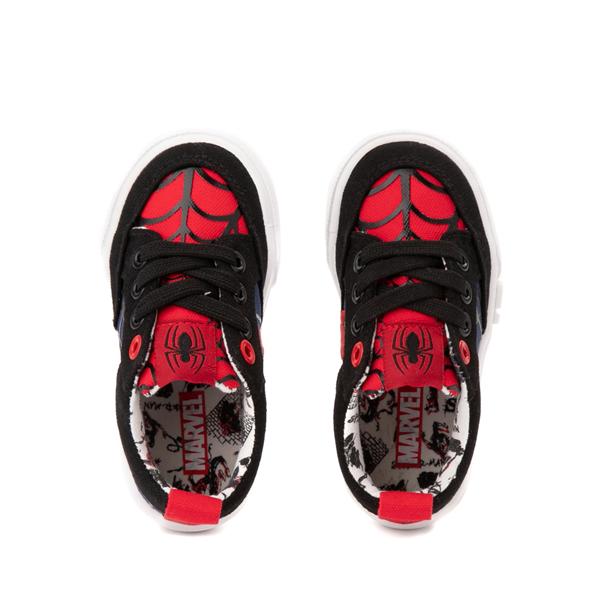 alternate view Ground Up Marvel Spider-Man Sneaker - Toddler - BlackALT2