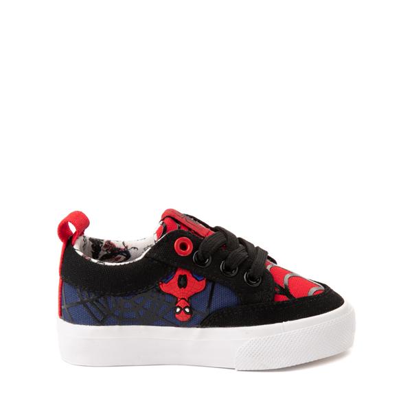 alternate view Ground Up Marvel Spider-Man Sneaker - Toddler - BlackALT2B