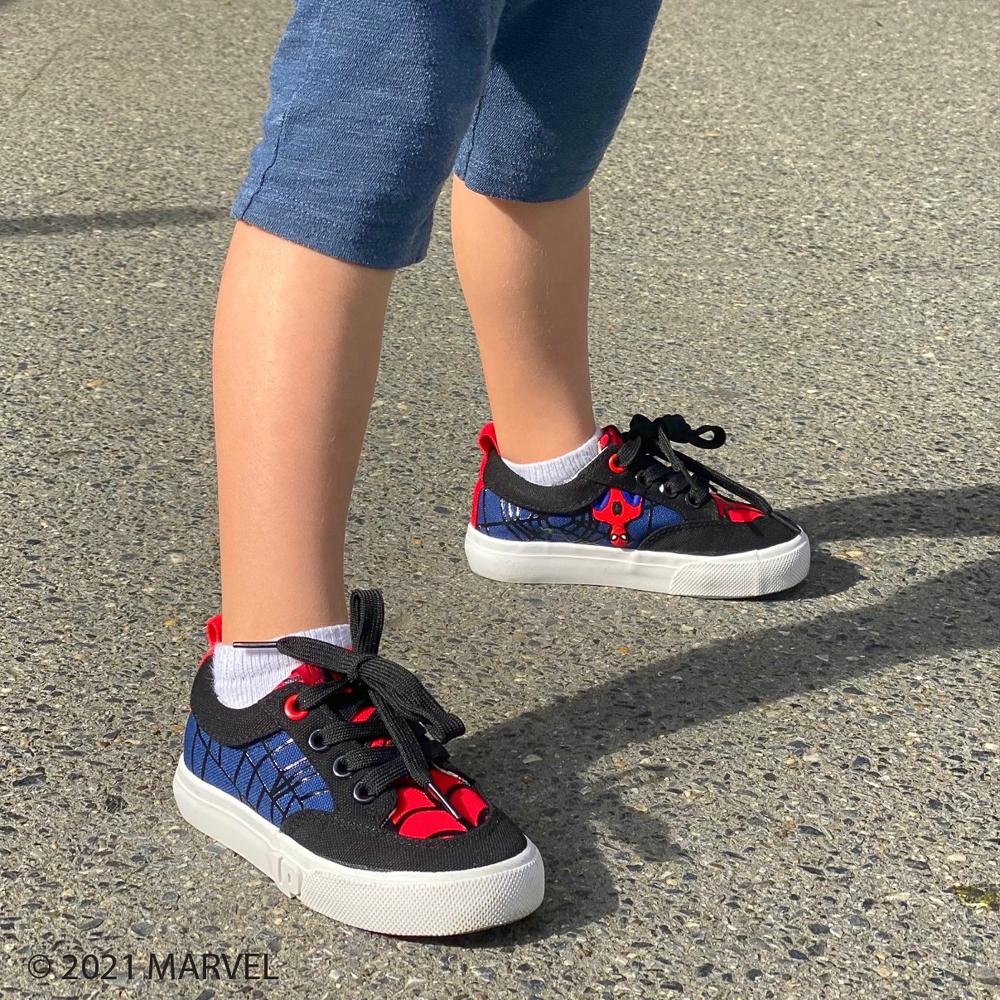 Ground Up Marvel Spider-Man Sneaker - Toddler - Black