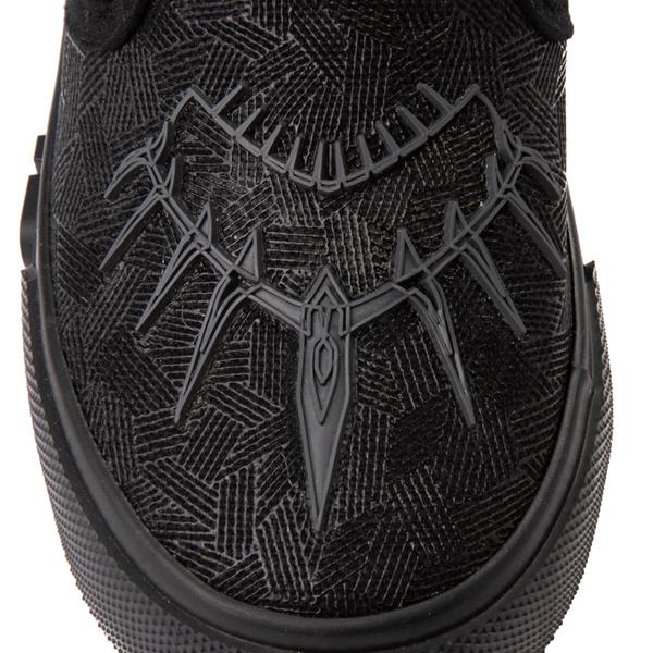alternate view Ground Up Marvel Black Panther Slip On Sneaker - Toddler - BlackALT2B