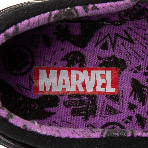 alternate view Ground Up Marvel Black Panther Slip On Sneaker - Toddler - BlackALT2C