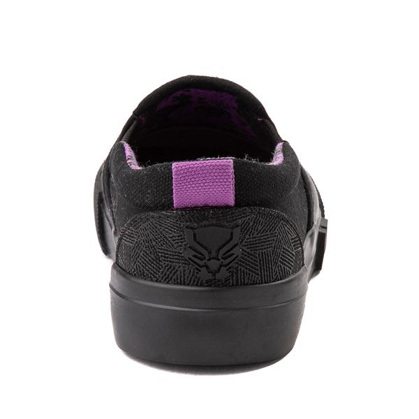 alternate view Ground Up Marvel Black Panther Slip On Sneaker - Toddler - BlackALT4