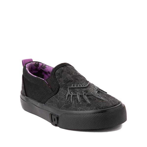 alternate view Ground Up Marvel Black Panther Slip On Sneaker - Toddler - BlackALT5