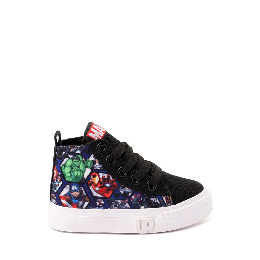 Ground Up Marvel Avengers Hi Sneaker - Toddler - Black