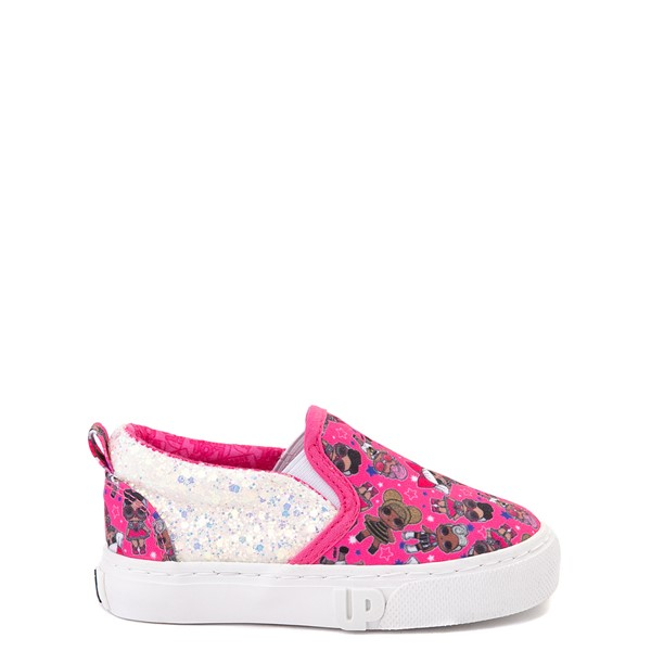 Main view of Ground Up LOL Surprise Slip On Sneaker - Toddler - Pink