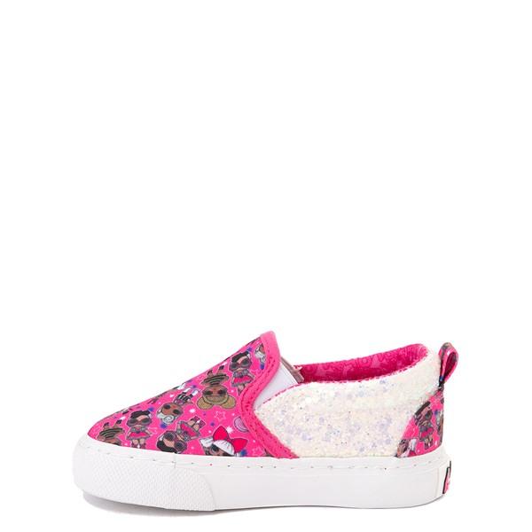 alternate view Ground Up LOL Surprise Slip On Sneaker - Toddler - PinkALT1