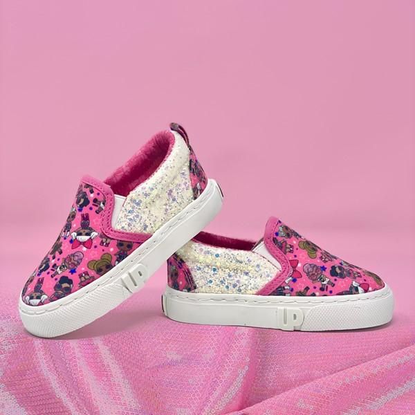 alternate view Ground Up LOL Surprise Slip On Sneaker - Toddler - PinkALT1B