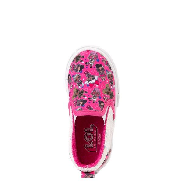 alternate view Ground Up LOL Surprise Slip On Sneaker - Toddler - PinkALT2