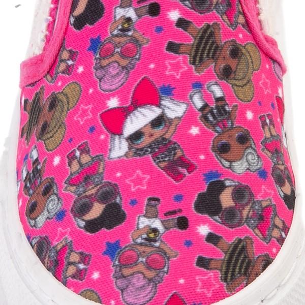 alternate view Ground Up LOL Surprise Slip On Sneaker - Toddler - PinkALT2B