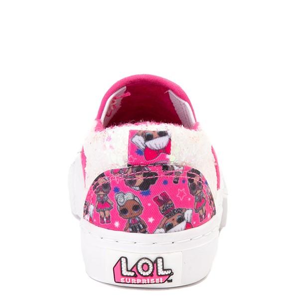 alternate view Ground Up LOL Surprise Slip On Sneaker - Toddler - PinkALT4