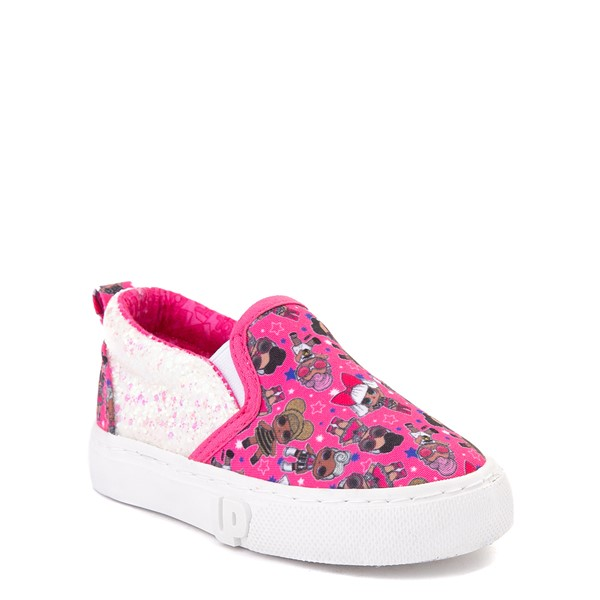 alternate view Ground Up LOL Surprise Slip On Sneaker - Toddler - PinkALT5