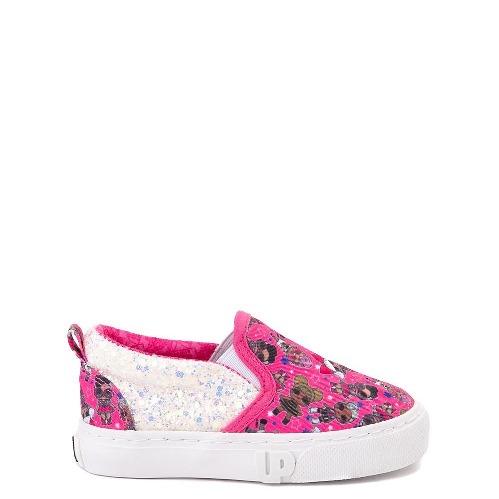 Ground Up LOL Surprise Slip On Sneaker - Toddler - Pink