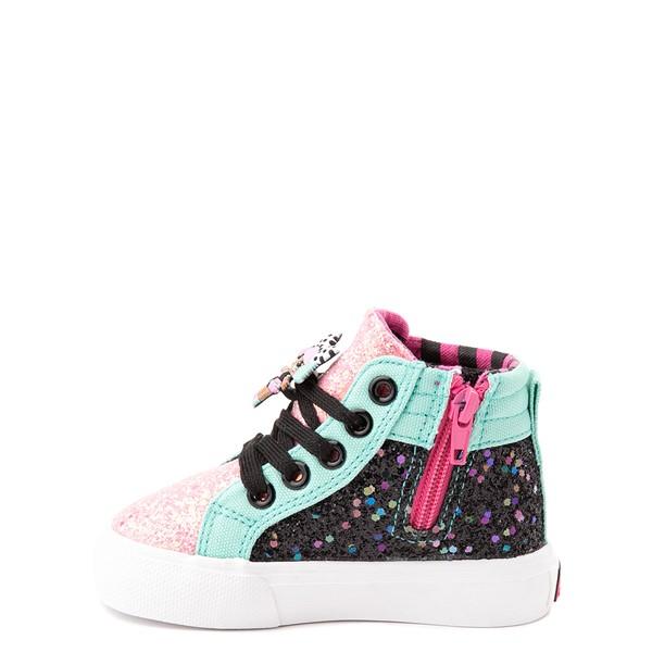 alternate view Ground Up LOL Surprise!™ Hi Sneaker - Toddler - MulticolorALT1
