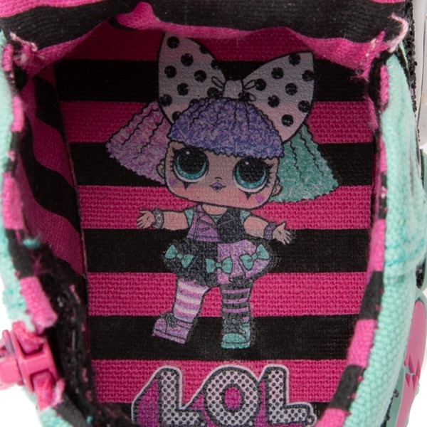 alternate view Ground Up LOL Surprise!™ Hi Sneaker - Toddler - MulticolorALT2B