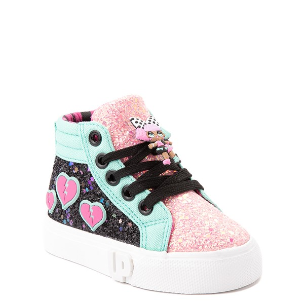 alternate view Ground Up LOL Surprise!™ Hi Sneaker - Toddler - MulticolorALT5
