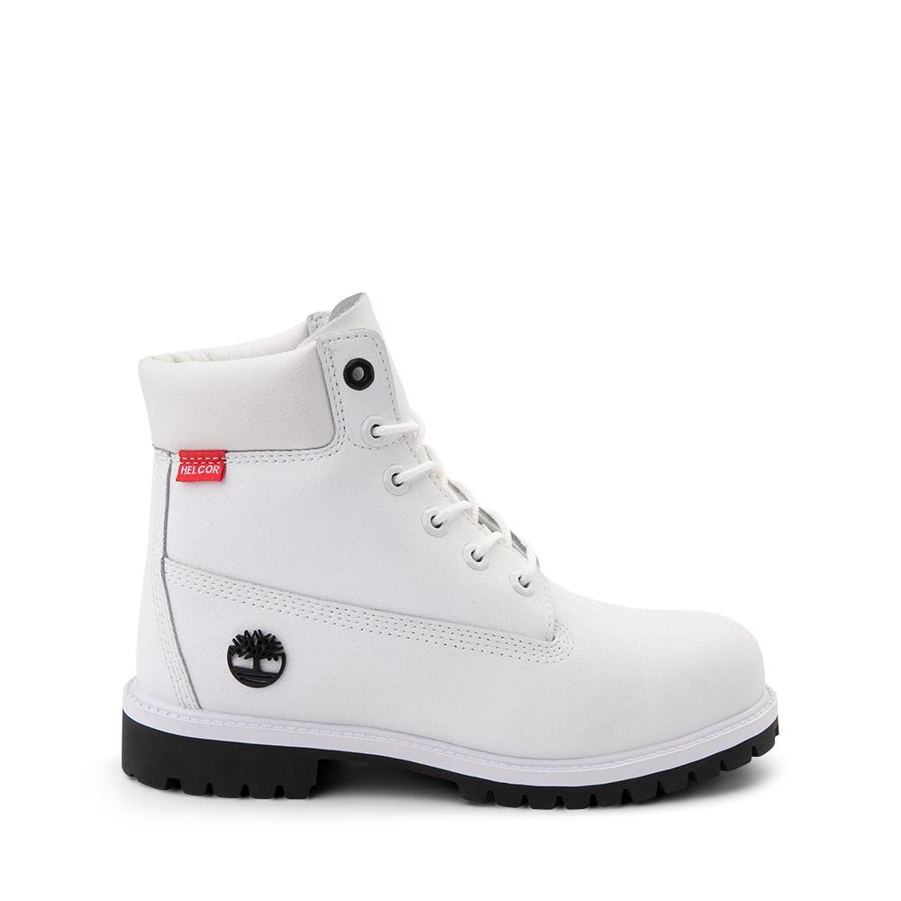 """Timberland Helcor® 6"""" Classic Boot - Big Kid - White"""