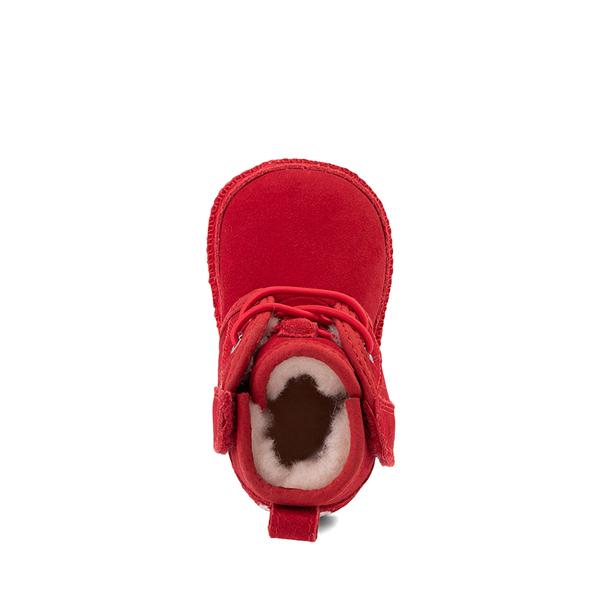 alternate view UGG® Neumel Boot - Baby / Toddler - Samba RedALT2
