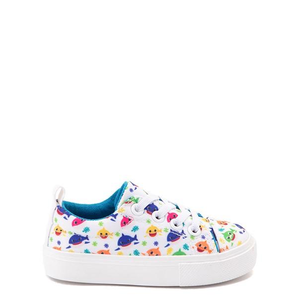Baby Shark Lo Sneaker - Toddler - White