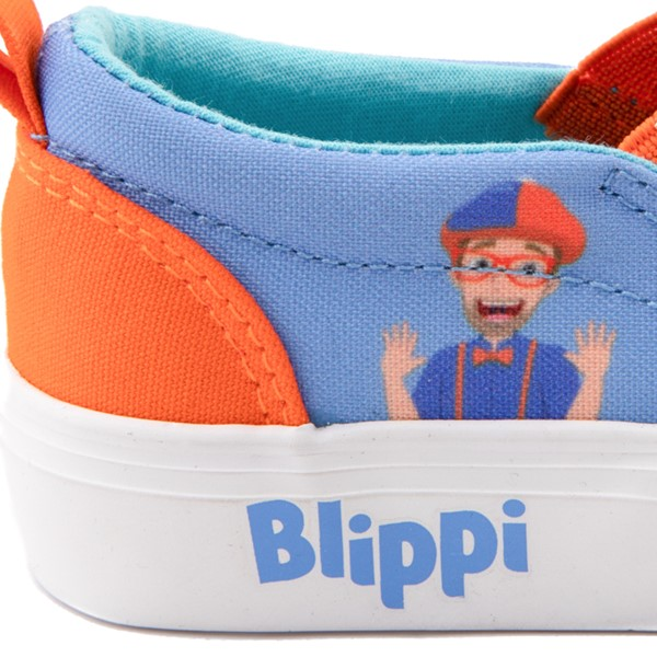 alternate view Blippi Slip On Sneaker - Toddler / Little Kid - Blue / OrangeALT2B