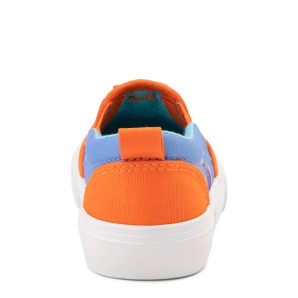 alternate view Blippi Slip On Sneaker - Toddler / Little Kid - Blue / OrangeALT4
