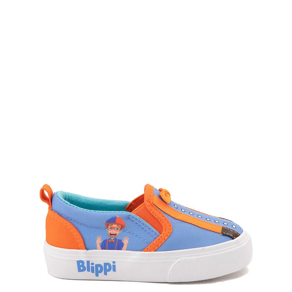 Blippi Slip On Sneaker - Toddler / Little Kid - Blue / Orange