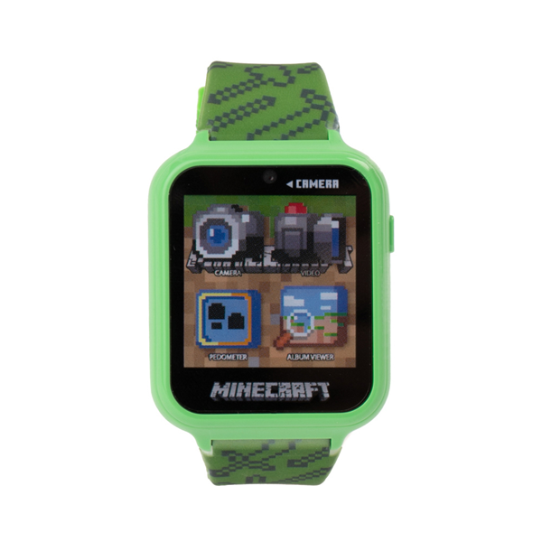 Main view of Minecraft Interactive Watch - Green